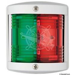 fanale 12 mt rosso/verde 225° utility77 bianco