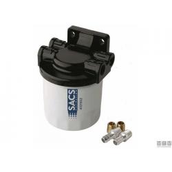 filtro separatore acqua carburante completo di raccordi