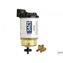 Filtro separatore acqua/carburante universale tipo Racor 3213/Mercury150lt