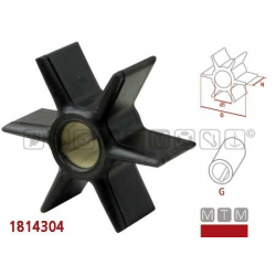 girante HONDA BF75/BF90 4TMERCURY/MARINER 45(Jet)/50-55-60(3cyl)/70-75-80-90(3cyl)/75-90-115-200-225DFI/100-115-125(4cyl), MERC