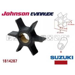 girante JOHNSON/EVINRUDE 25/30/40/50 4T SUZUKI serie DF da 25 a 50cv e serie DT da 20 a 40cv 4T