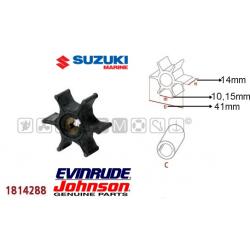 girante JOHNSON/EVINRUDE 4/5cv 4t SUZUKI serie DF4/DF5/DF6 4t e serie DT2/DT2.2/DT4/DT5/DT6/DT8 2t