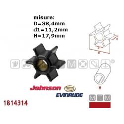 girante JOHNSON/EVINRUDE 4/4.5/6/7.5/8 (1980-) - 5/6/8 (1991-)