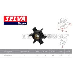 girante YAMAHA/SELVA/PARSUN 4/5CV 4T