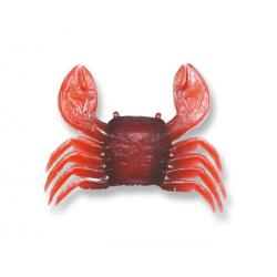 granchio in gomma rosso/nero misura L