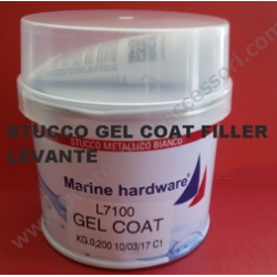 GEL COAT Bianco 200gr LEVANTE/MARINE HARDWARE