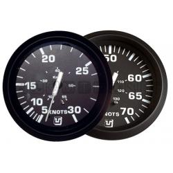 indicatore velocita' UFLEX Ø 85mm 55nodi NERO