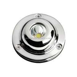 Luce subacquea LED per plancette / specchio di poppa / carena (LED BIANCO)