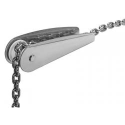 musone di prua in acciaio inox mod classic 240mm