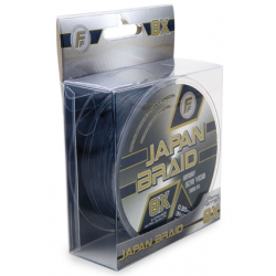 multifibre JAPAN BRAID 8 fili 0,40-250mt (c.rott.46kg-100lb) grigio