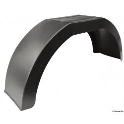 """Parafanghi per ruote carrelli in MOPLEN mis.L770mm-H330mm-PR 210mm (x ruote 13""""/14"""")"""
