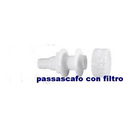 passascafo da 3/4 con filtro per pompe ATTWOOD