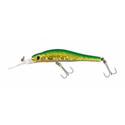 pesce 7cm 5.5gr moray minnow giallo/verde