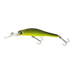pesce 7cm 5.5gr moray minnow verde puntinato