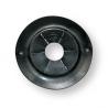 anello passaguida antispruzzo nero diam.89mm incasso 68mm