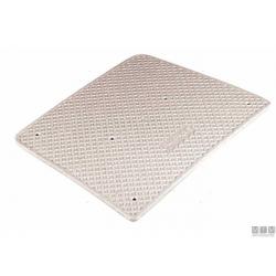 piastra salvapoppa 45x36cm plastica bianco
