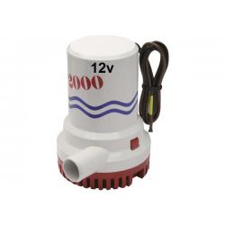 pompa immers. B&W 2000gph 126lt/m 12v
