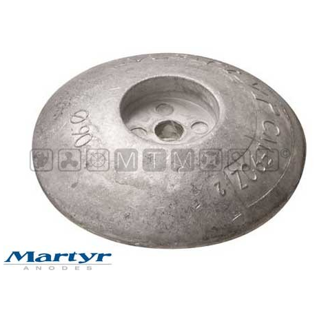 anodo flangia d.70mm alupeso 0,06kg