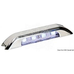 plafoniera di cortesia LED BLU 12/24Vcon luce verso il basso