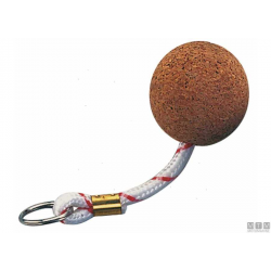 portachiavi gallegg.in pallina di sughero d.50mm