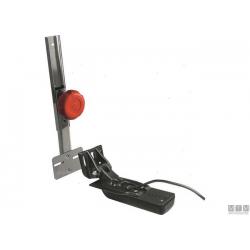 portatrasduttore inox regolabile 30cm/55cm