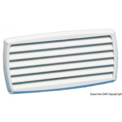 presa d'aria in abs bianca (201x101mm)