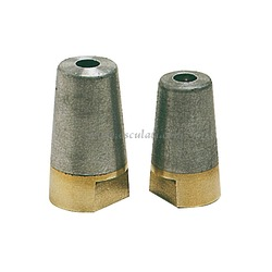Anodo linee d'asse Radice 40mm invito esagonale