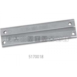 anodo MERCURY alu barra trim 30--125 - tutti V6 - Optimax - Verado mis.195 x 50 x H11