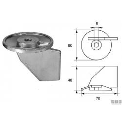 anodo SUZUKI pinna DT55/65 (2T) & DF40/50 (4T)