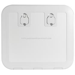 sportello d'ispezione in Luran bianco versione FLUSH 520x465 mm