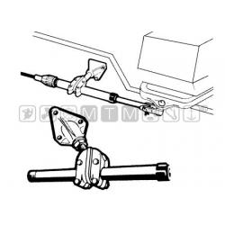 Staffa con snodo Ultraflex S39.