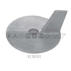 anodo YAMAHA alu pinna Ø95 H53mm 20C/D-25J/Q/N-30D-40H/V/Y/X-50H/D-F40A-F50A-FT50B