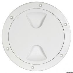 tappo ispezione In polip/ bianco apertura 152mm esterno 205mm