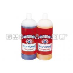 teak wonder combo pack Cleaner + Brightener 1+1 lt