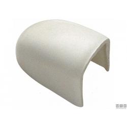terminale bianco per profilo altezza 35mm