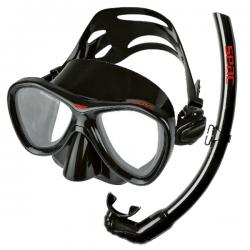 maschera completo SEAC COVE sil/nero