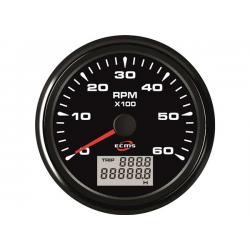 contagiri/contaore universale per motori a benzina 6000 giri