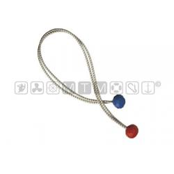 elastico Ø 4mm lunghezza 40cm con palline