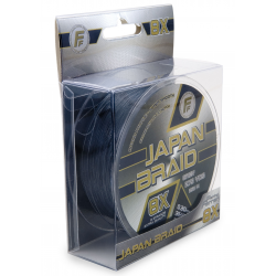 multifibre JAPAN BRAID 8 fili 0,25-250mt (c.rott.18kg-40lb) grigio