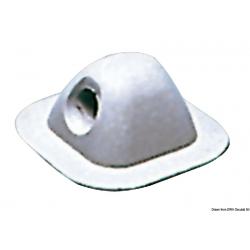 passacima in EPDM per gommoni grigio chiaro 96x96
