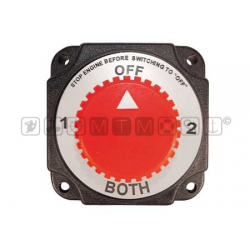 deviatore batterie HEAVY DUTY cap.continua 280ampmis 100x100mm
