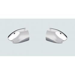 terminale inox(la coppia) per profilo Radial altezza 85mm