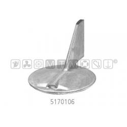 anodo yamaha alu pinna dx Ø100 H53mm 150C/F-F150A-175B/D-200B/F/G-225B/D