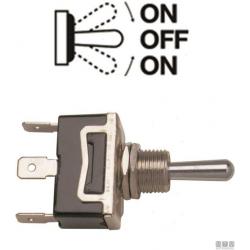 interruttore leva (On)-Off-(On) 15A 3 terminali