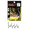 amo OLYMPUS serie 618/BLN n.2 carbon gambo medio storto c/occhiello (bs.10pz.)