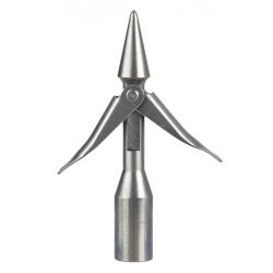 arpione inox SEAC mini concorde punta conica 2 alette