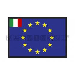 bandiera europa/italia 30x45 tessuto