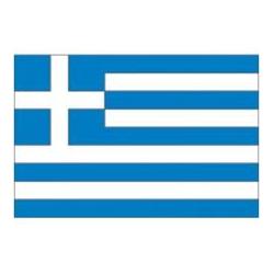 bandiera grecia 20x30 stamigna di poliestere