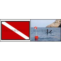 bandiera sub 20x30 poliestere