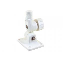 base antenna x vhf/gps in nylon bianco regolazione con pomello